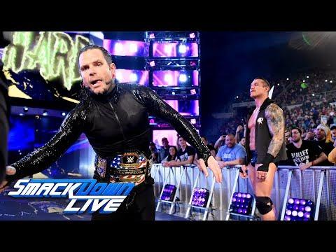 Jeff Hardy joins SmackDown LIVE: April 17, 2018