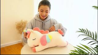 Cute Funny Unicorn Shaped Plush Pillows Soft Toys Doll Vent Creative Unicorn Plush Pillows