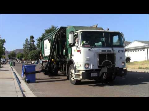 Waste Management Garbage Trucks