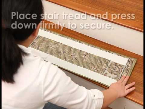 DIY How To Install Carpet Stair Treads From Natural Area Rugs
