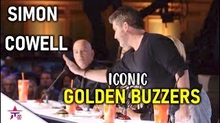 MOCT ICONIC SIMON COWELL GOLDEN BUZZERS ON BRITAIN'S GOT TALENT!