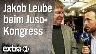 Jakob Leube beim Juso-Kongress