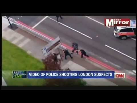 London police shoot attackers who killed British soldier Lee Rigby (May 23, 2013)
