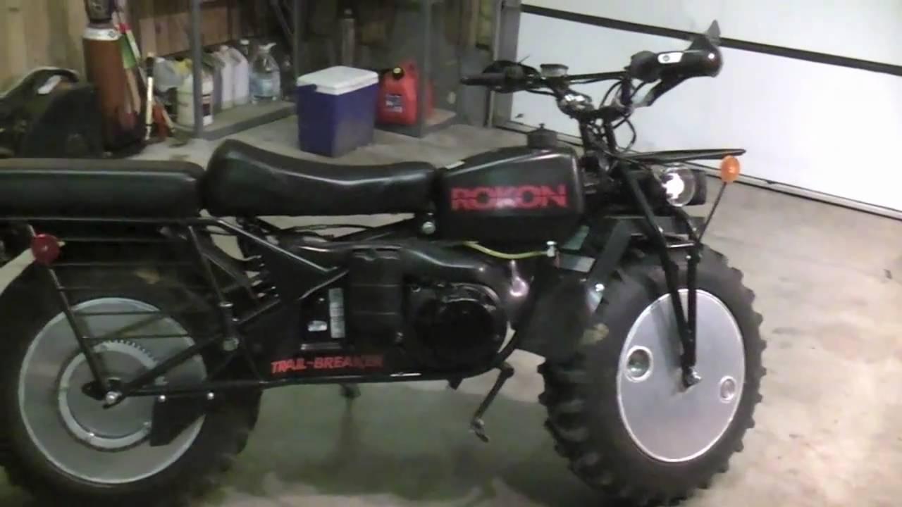 Rokon Trailbreaker Quick Review - YouTube