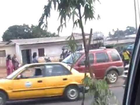 My Tour of the Streets of Yaounde, the Capitol of Cameroon, Africa