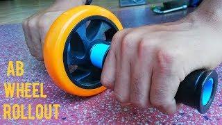 كيفية جعل محلية الصنع Ab عجلة Rollouts عن التمارين في المنزل