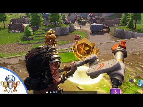Risky Reels Treasure Map Challenge Location - Fortnite Battle Royale Season 5 Challenge Guide