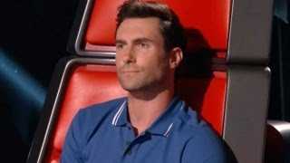 adam levine i hate this country on the voice top 8 elimination judith hill sent home