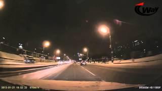 видео Видеорегистратор blackvue dr500gw hd white