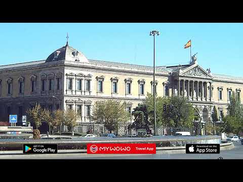 Bibliothèque Nationale – Repères Historiques – Madrid – Audioguide – MyWoWo Travel App