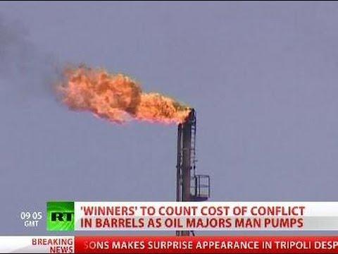 Barrel per Bomb: Libya 'winners' & oil majors launch black gold grab