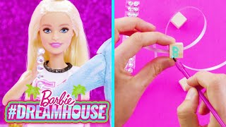 DIY SPARKLE CRAFTS WITH @A for Adley - Learning & Fun  | #DreamHouse Episode 8 | @Barbie
