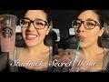Starbucks Secret Menu Pink Drink | Everybody Needs Coffee on Monday! | Julissa Chapa