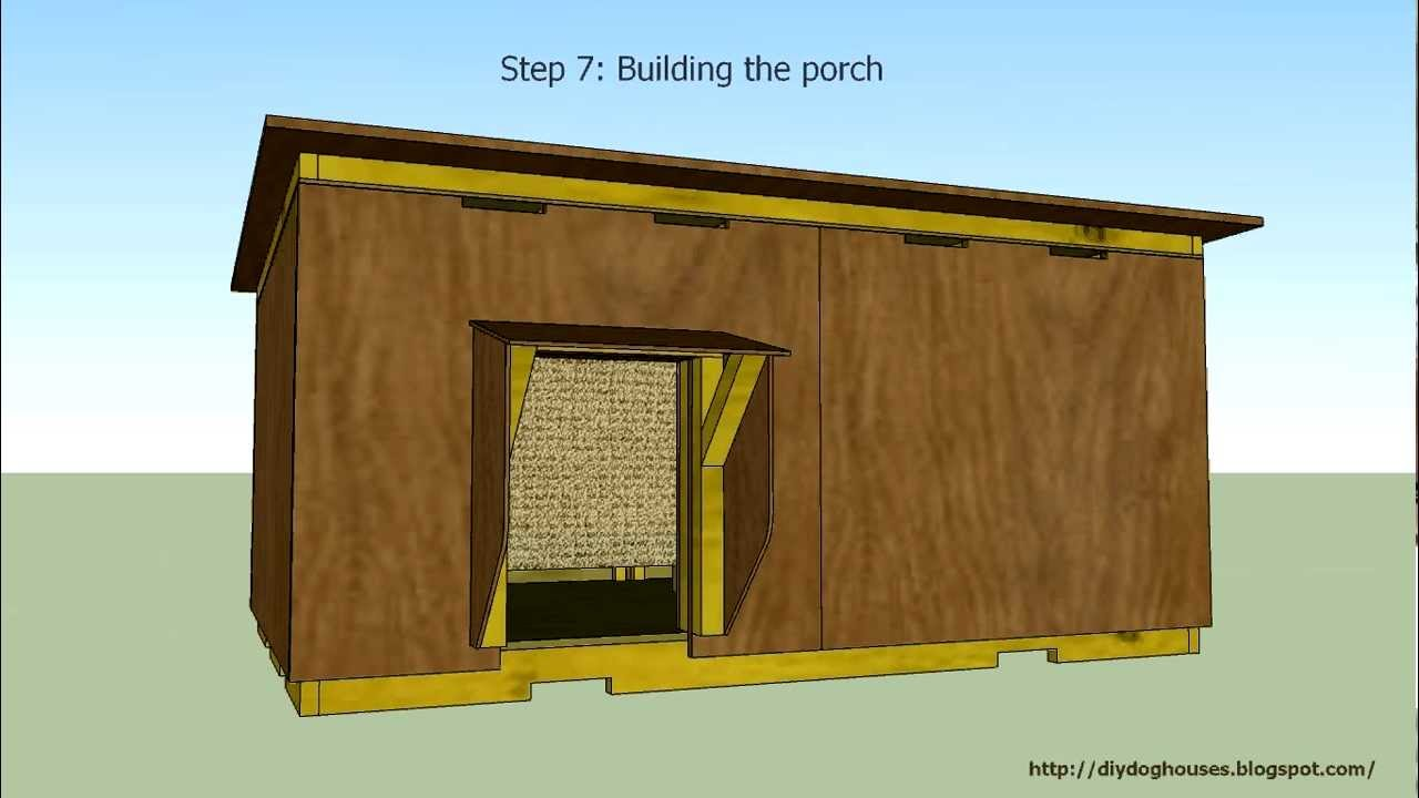 detailed instruction insulated dog house 2 youtube