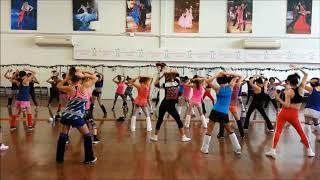 ★사랑해도 될까요REMIX (에어로빅댄스)Dance Choreography(안무) HalaAerobics(할라에어로빅)-CANADA