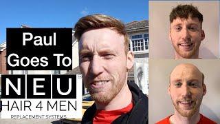 Paul Goes NEU Hair For Men. For A New Hair System