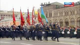 Рязанские десантники на Параде Победы в Москве