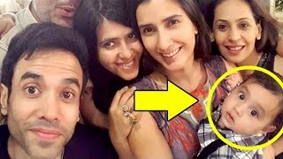 Tusshar kapoor will take care of his baby since he is not married?