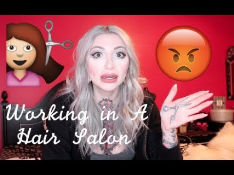 Working in a Hair Salon - My BAD Experience STORYTIME