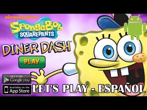 Let's Play - Spongebob Diner Dash (Bob Esponja - Cocina Rápida) - Android