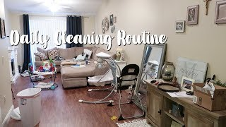 DAILY CLEANING ROUTINE 2018 | CLEAN WITH ME | Spring Cleaning Motivation