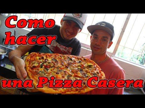 Como hacer una Pizza Casera - Kevo