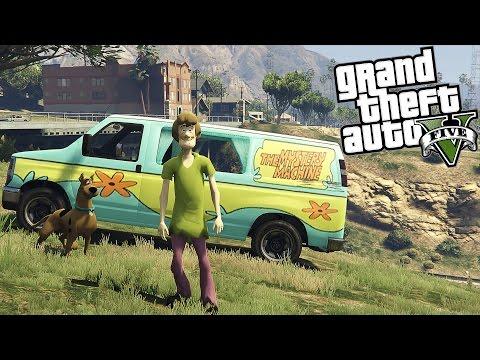 Yamatum O | GTA V : #187 สกู๊ปปี้ดูปี้ดู้ Scooby Doo Mod