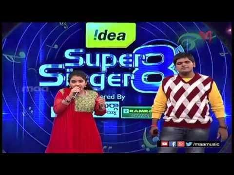 Super Singer 8 Episode 17- Sirisha Anurag Performance
