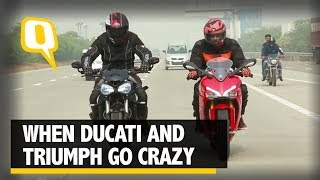 Ducati SuperSport S And Triumph Street Triple RS Go On a Weekend Ride | The Quint