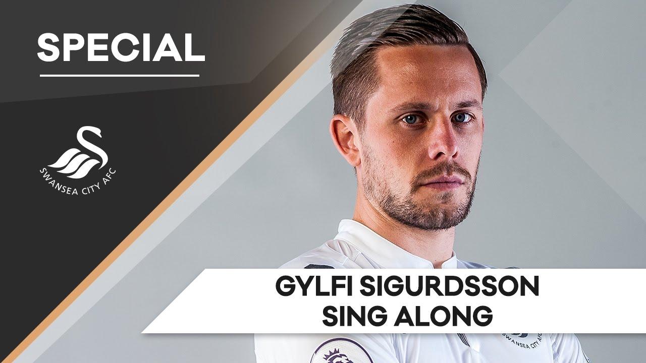 Swans TV Gylfi Sigurdsson Sing Along