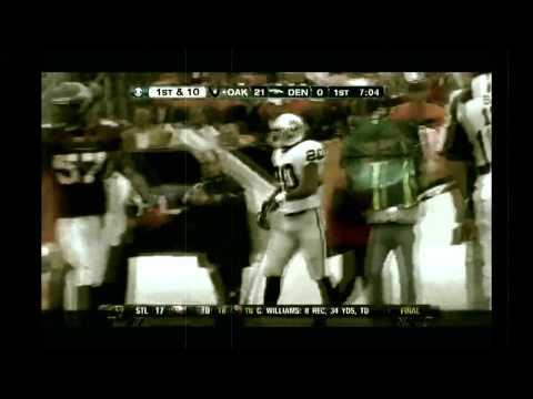 Darren McFadden Murders the Denver Broncos