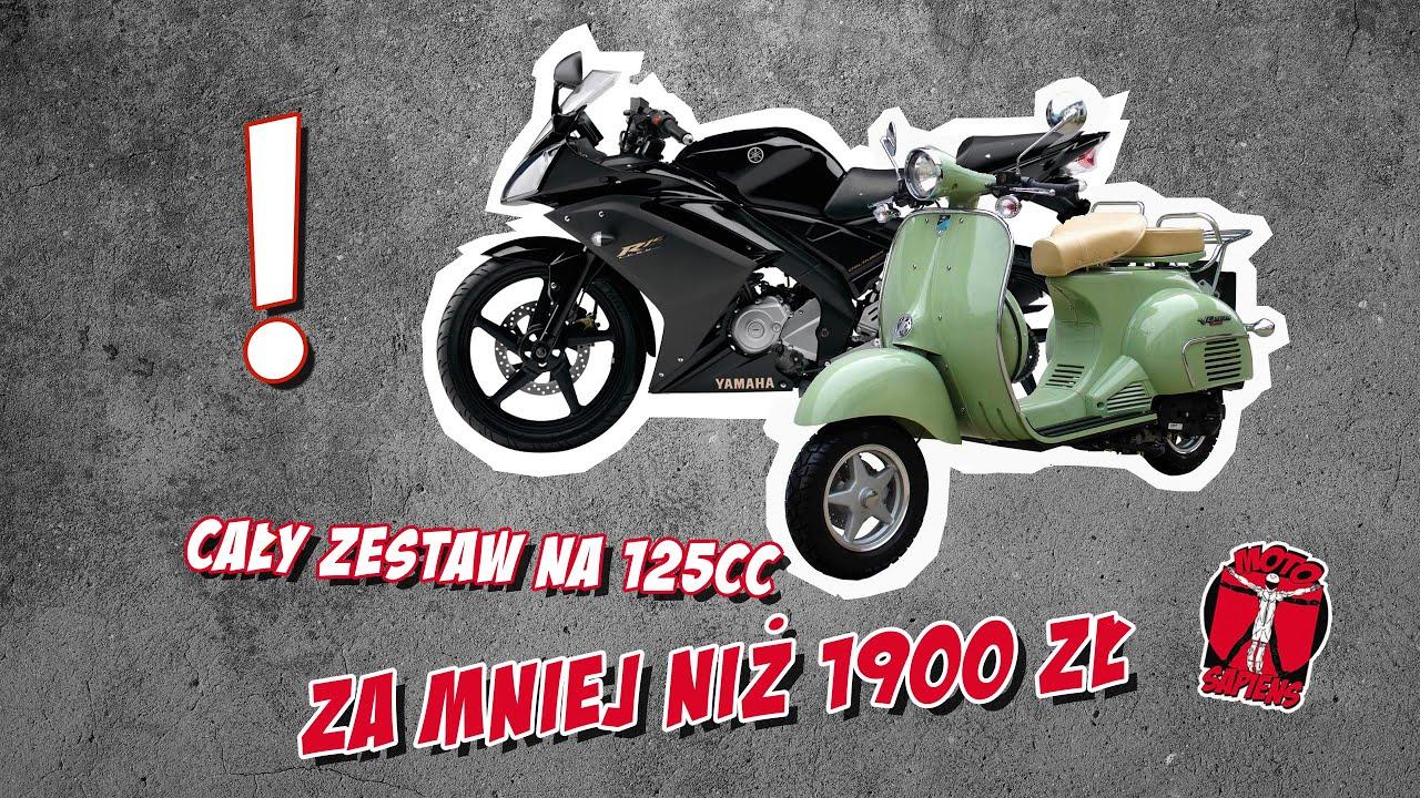 Jak bezpiecznie ubrać się na motocykl 125cc lub skuter