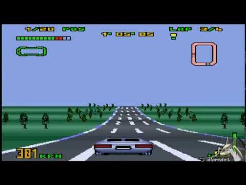 Gameplay - (SNES) Top Gear 3000 - System 1 - Merak