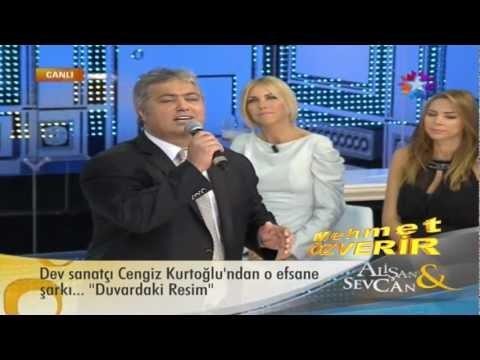 Cengiz Kurtoğlu Duvardaki Resim - (Duvardaki Resmin) ( Canlı Performans ) Alişan&Sevcan - StarTv