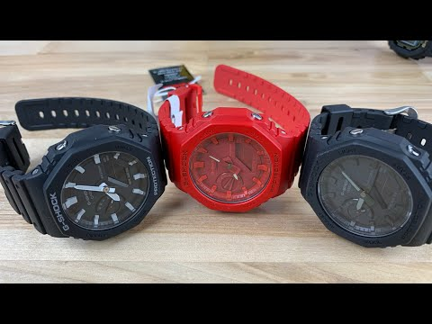 Gshock Ga-2100 Carbon Core Guard New Release