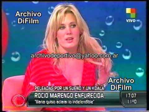 Jorge Rial entrevista a Rocio Marengo - DiFilm (2007)