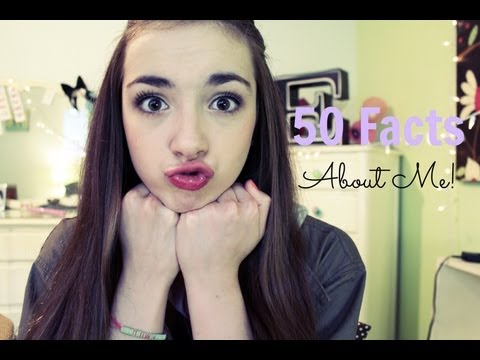 50 Facts About Me!♡