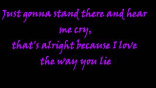 I Am King - Love The Way You Lie Lyrics (HD)