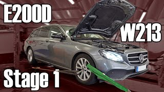 OK-Chiptuning - Mercedes-Benz E200d W213 | Softwareoptimierung Stage 1