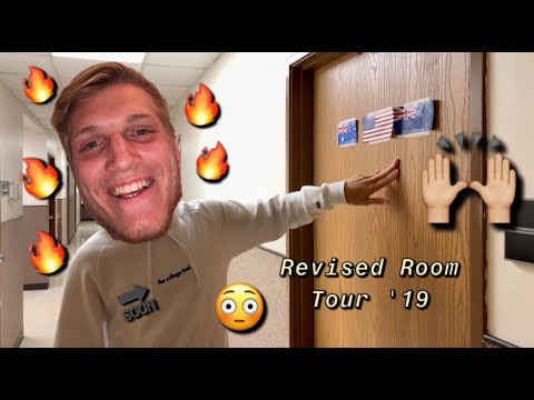 FRESHMEN DORM ROOM TOUR 2019! (updated) /// state fair community college