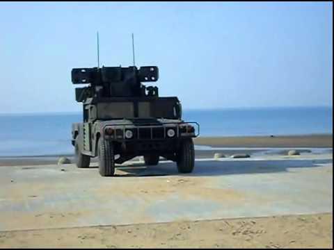 Avenger system test Stinger missile