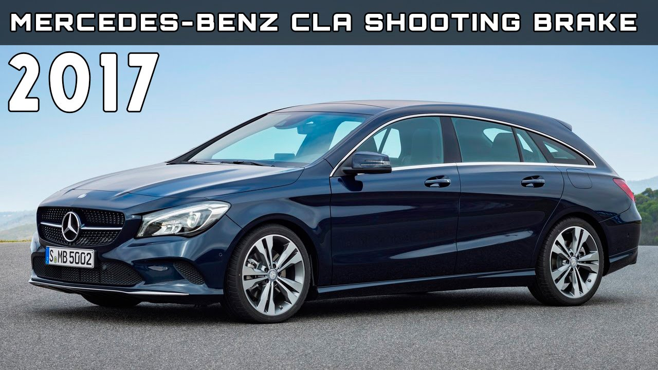2017 mercedes benz cla shooting brake review rendered. Black Bedroom Furniture Sets. Home Design Ideas