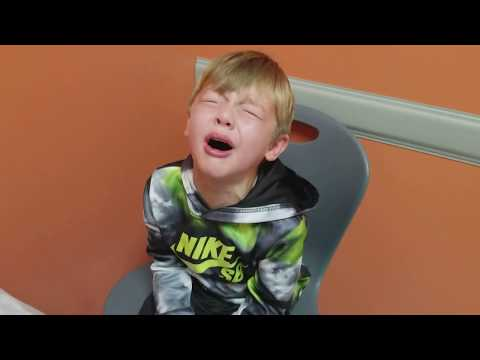 Brother & Sister Have A Meltdown Before Shots At Doctor's Office