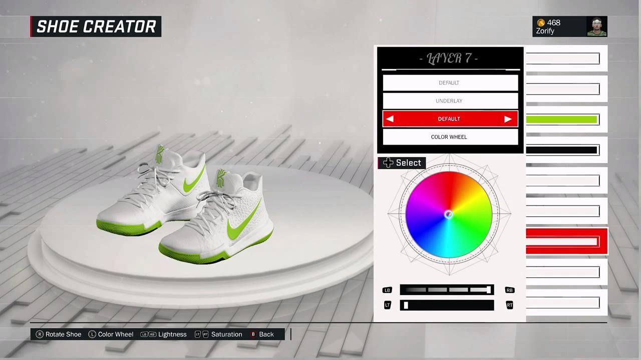 newest 91cef af1ea NBA 2K17 Shoe Creator - Nike Kyrie 3