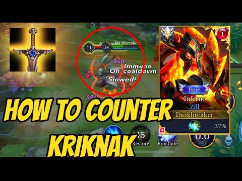 ZILL IS META AGAIN - INSANE KRIKNAK COUNTER | #ArenaofValor#ROV#LiênQuânMobile#펜타스톰