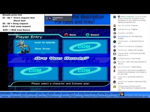 Sonic Riders Zero Gravity This IS A Sonic! RavenCrow 2