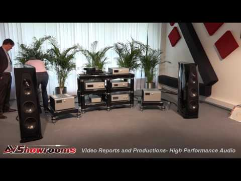 Soulution amplifiers, Rockport loudspeakers, Critical Mass, De Baer table, Vovox,  High End Munich 2