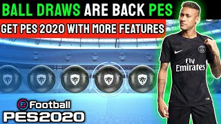 Get Ball Draws in Pes 2020 Mobile    Pes New Features with Ball Draws - Pes Chinese Version Review  