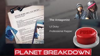 LIL DICKY - THE ANTAGONIST | PATREON HUG GOD REQUEST | REACTION