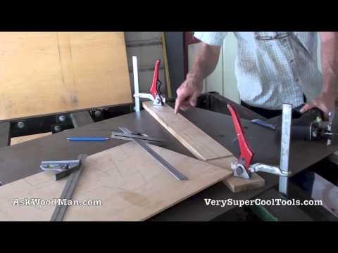 Making A DMT Diamond Stone Holder 1 of 4